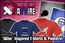Arcalian Attire - Doctor Who inspired T-Shirts