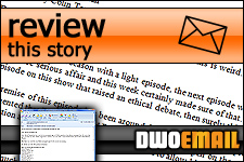 Doctor Who Online - Email - Review This Story!
