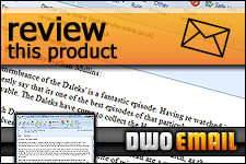 Doctor Who Online - Email - Review this Product!